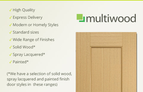 Multiwood Kitchen Cabinet Doors