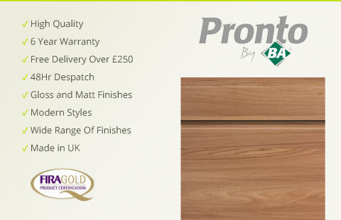 Pronto Kitchen Cabinet Doors