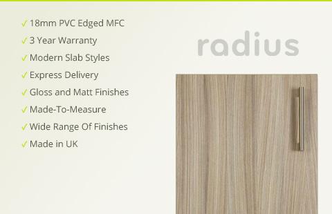 Premium PVC Edge Doors
