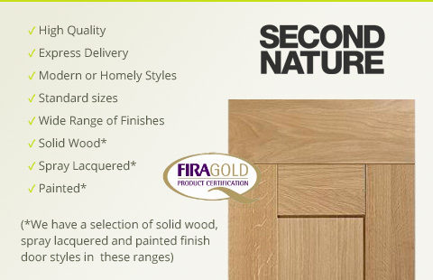 Second-Nature Kitchen Cabinet Doors