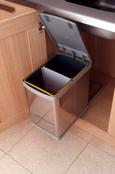 Kitchen Cabinet Waste Bin Uk