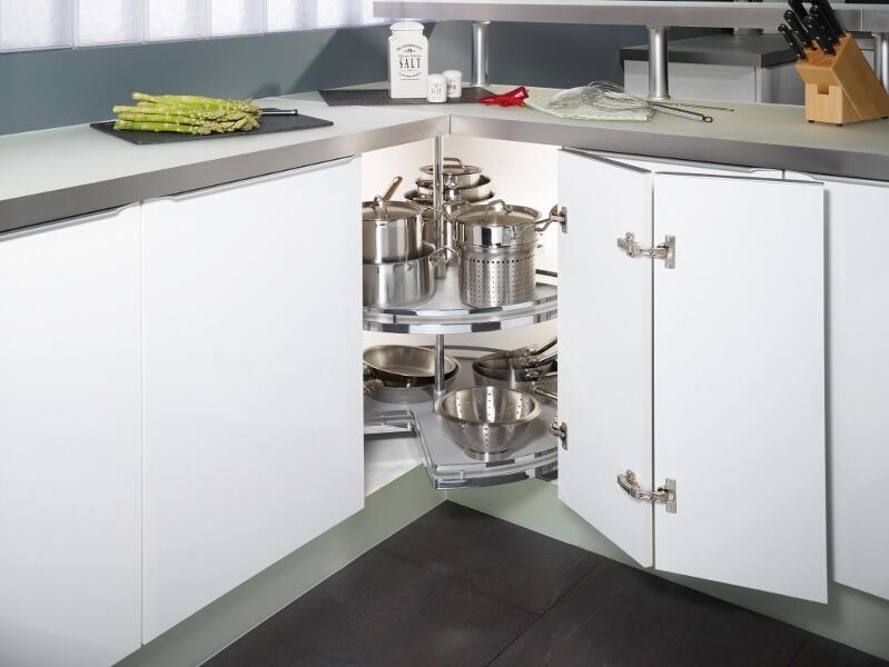 Kitchen Corner Shelf Unit