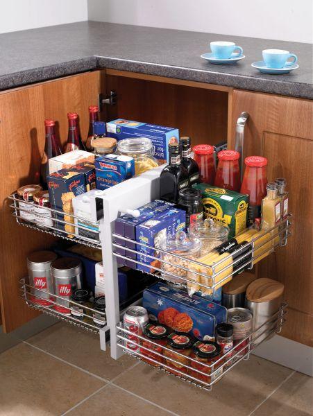 blind corner kitchen storage unit