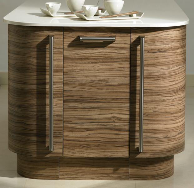 Bella curved kitchen door 715mm lark larks for Curved kitchen units uk