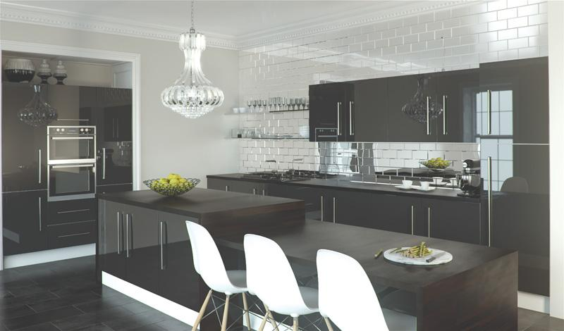 Zurfiz Kitchen In Metallic Anthracite Lark Amp Larks
