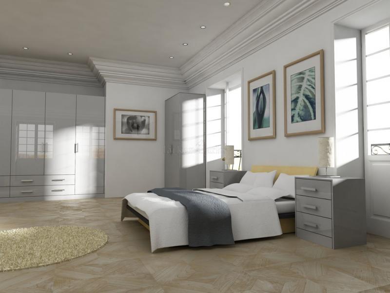 Gravity Bedroom In Gloss Light Grey Lark Amp Larks
