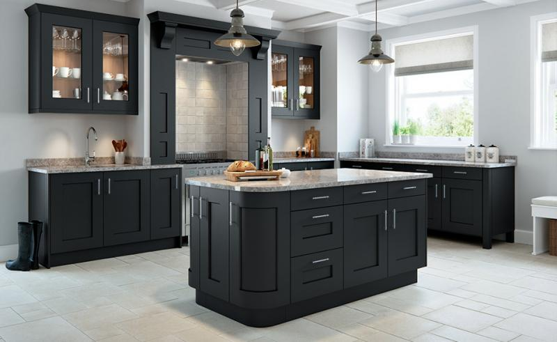 Rivington Bespoke Painted Kitchen In Slate Grey Mesmerizing Bespoke Kitchen Design Painting