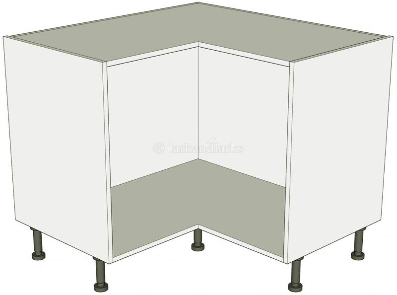 Corner carousel base unit 2 separate doors lark larks for Separate kitchen units