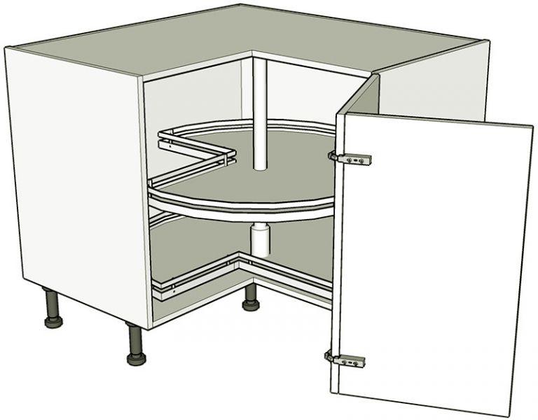 Corner Carousel Base Unit Bi Fold Lark Amp Larks
