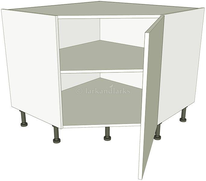 Corner Kitchen Sink Base Unit : Corner Kitchen Base Units Diagonal - shown with doors/drawer fronts