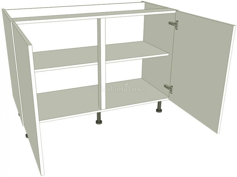 Highline kitchen base unit double lark larks for Basic kitchen base units