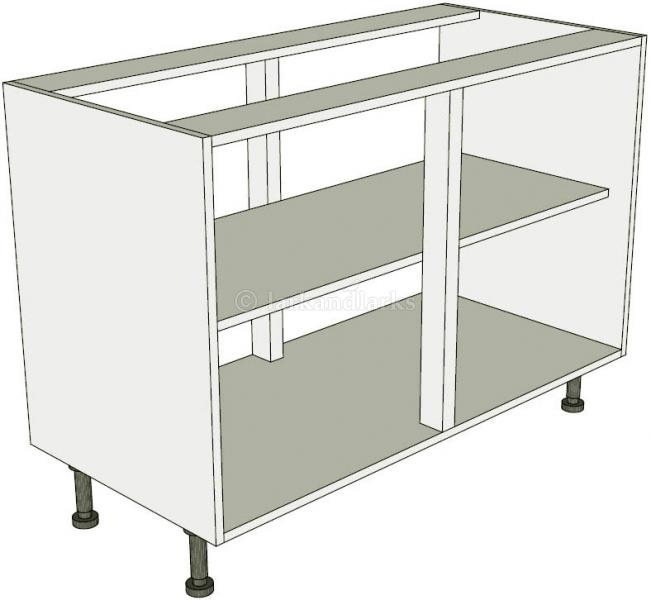 Peninsula highline kitchen base unit double lark larks for Double kitchen base unit
