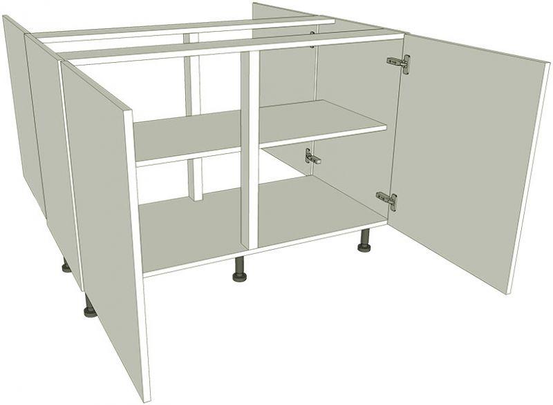 Peninsula Highline Kitchen Base Unit Double