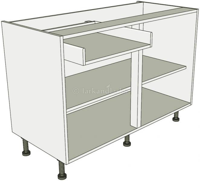 Sink Kitchen Base Units Double Working Drawer Lark