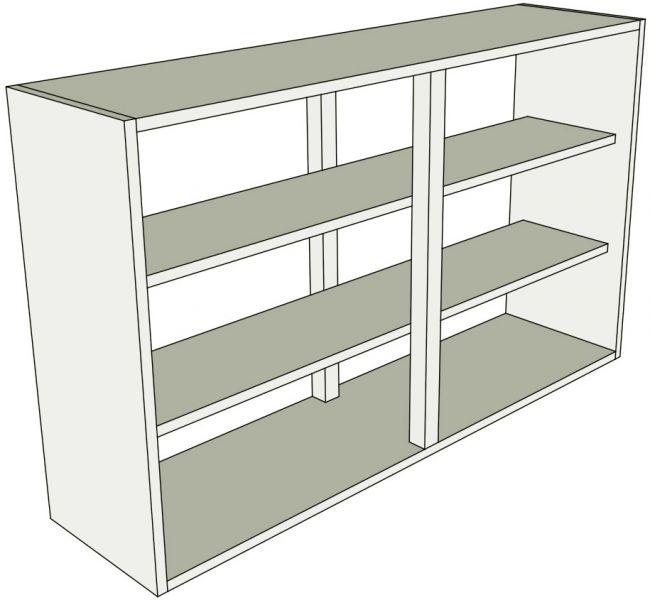 Peninsula kitchen wall units tall double lark larks for Double kitchen wall unit