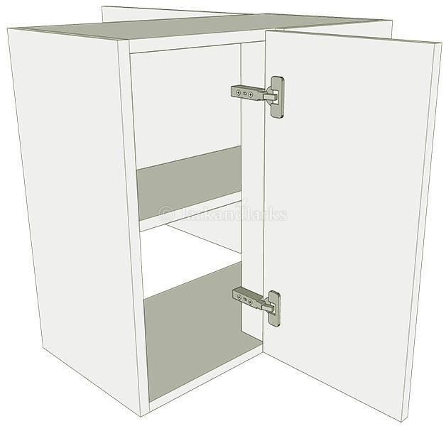 Peninsula variable corner kitchen wall unit low for Full wall kitchen units