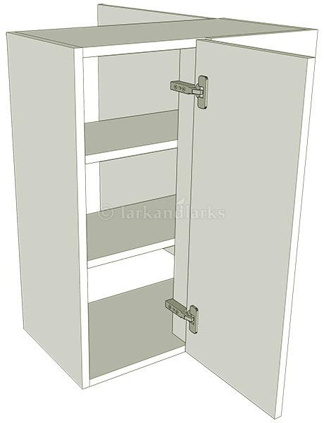 Peninsula variable corner kitchen wall unit tall for Tall kitchen wall units