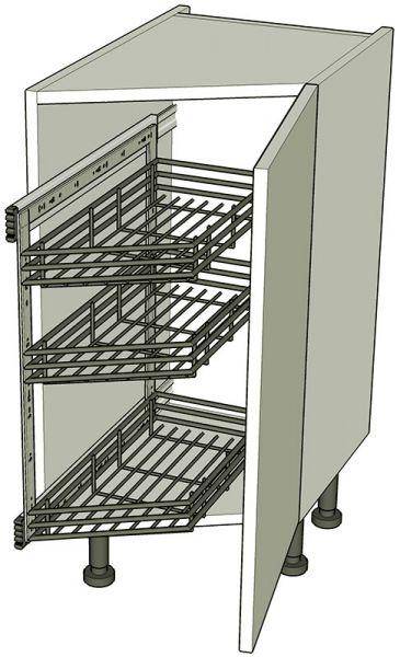 Angled Kitchen Base Storage Units Highline