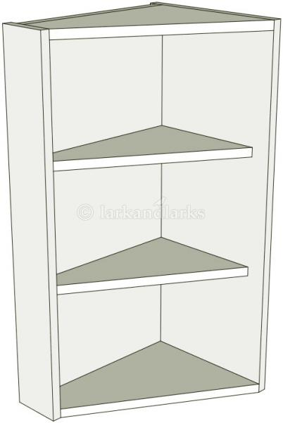 Angled kitchen wall units tall 900mm high lark larks for Tall kitchen wall units