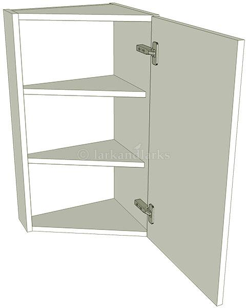 Angled kitchen wall units tall 900mm high for Full wall kitchen units
