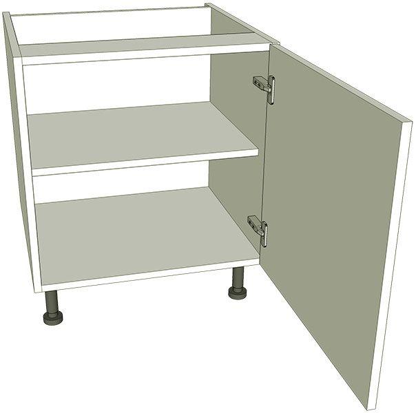 Low level kitchen base unit single lark larks for Kitchen base unit carcase only