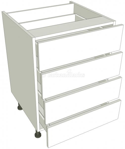 4 drawer base unit lark larks for Basic kitchen base units