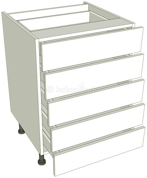 5 drawer base unit lark larks for Basic kitchen base units