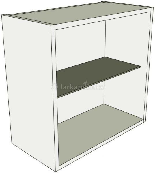 Glazed single kitchen wall unit low 575mm high for Single kitchen wall unit
