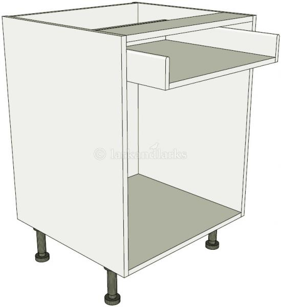 Open kitchen base unit drawerline lark larks for Service void kitchen units