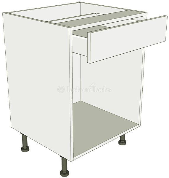 Open kitchen base unit drawerline lark larks for Basic kitchen base units