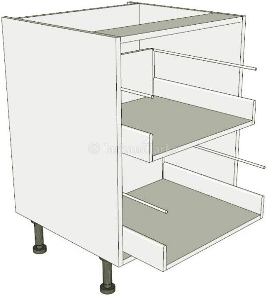 2 drawer base unit lark larks for Service void kitchen units