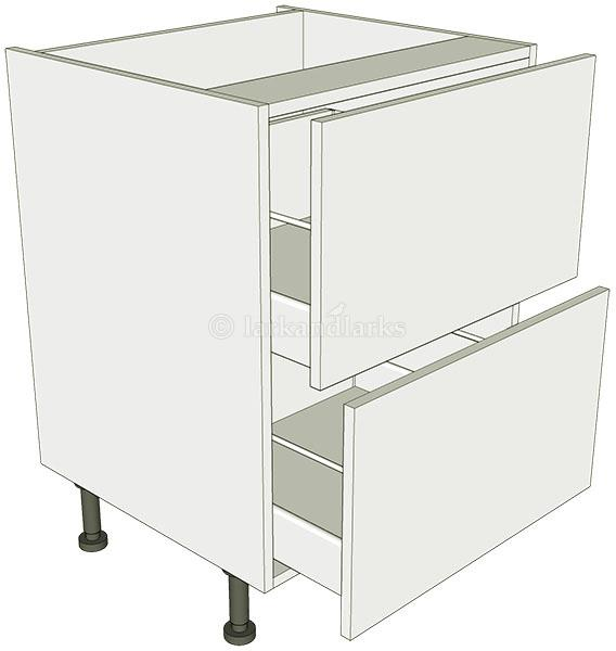 2 drawer base unit lark larks for Kitchen base unit carcase only