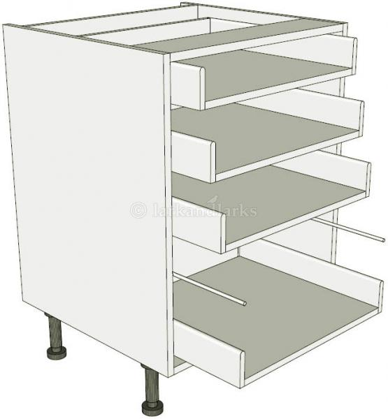 4 drawer pan base unit lark larks for Service void kitchen units