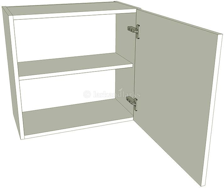 Low 575mm high single kitchen wall unit for Individual kitchen units