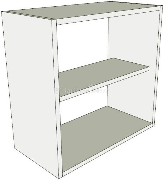 Peninsula kitchen wall unit low single for Single kitchen wall unit