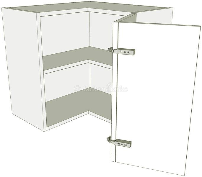 Corner Kitchen Wall Unit L Shape Low