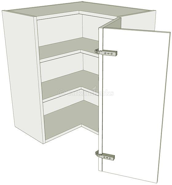 Corner kitchen wall units 39 l 39 shape tall for Full wall kitchen units