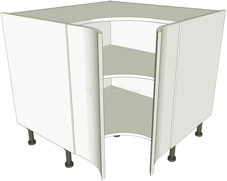 Corner Kitchen Base Unit Concave. Corner Kitchen Base Unit ...