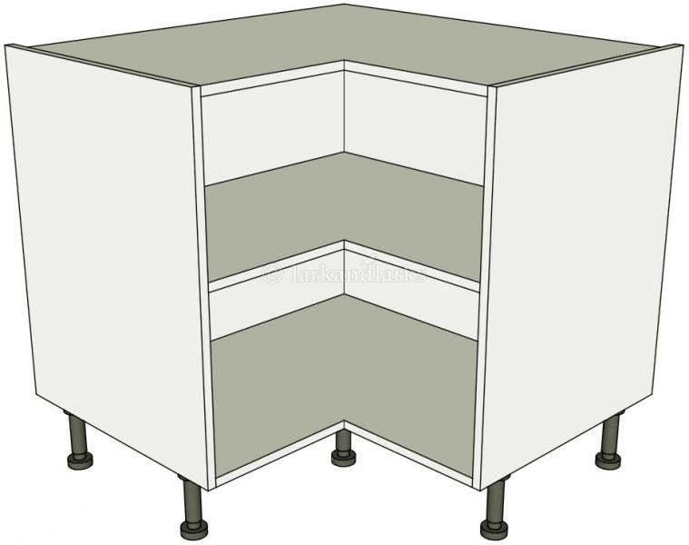 Kitchen L Shape Base Unit Flat Pack