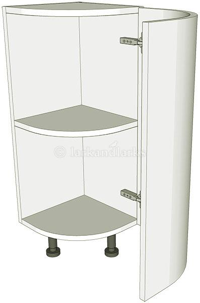 Curved Kitchen Panel Door Base Unit Highline