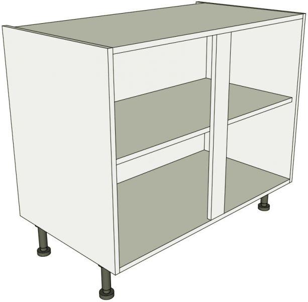 Kitchen double base unit flat pack lark larks for Kitchen base unit carcase only