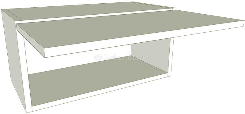 Kitchen Top Box Wall Unit Flat Pack Lark Amp Larks
