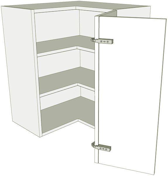 Kitchen 39 l 39 shape wall unit flat pack for 600mm kitchen wall unit