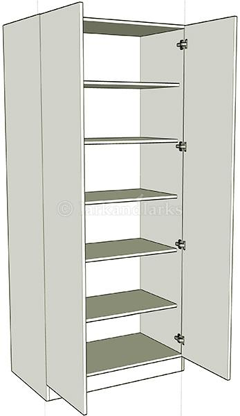 Double Wardrobe Shelf Units Lark Amp Larks
