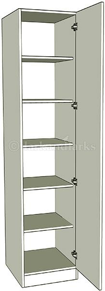 Single wardrobe shelf units lark larks for 1 door wardrobe with shelves