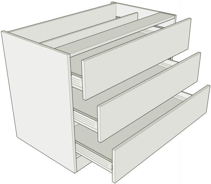 Standard Height 3 Drawer Bedroom Units Lark Larks