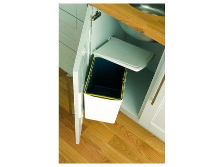undersink waste bin 16 litres