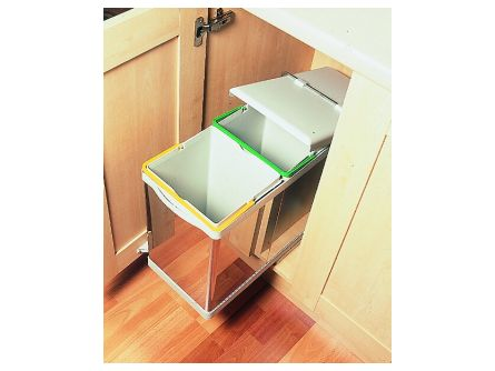 Automatic Pull-Out Double Bin - 28 Litres