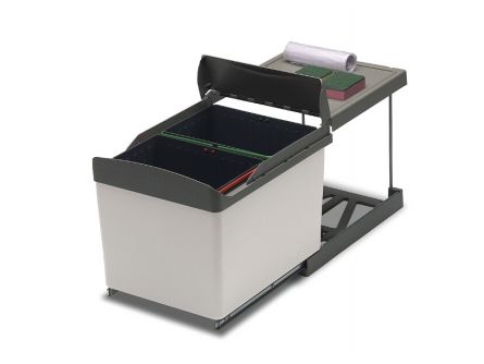 Automatic Double Bin - 32 Litres