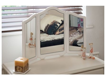 Arched Triple Mirror
